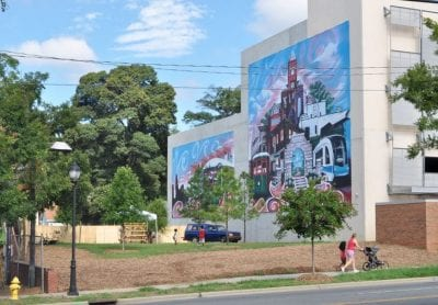 With help from the Knight Foundation and a Danish consulting firm, community leaders in the Five Points area hope to turn this vacant parcel into a space for community gatherings and outdoor events. The move comes as Five Points has seen an influx of newcomers looking to live close to uptown Charlotte. (Qcitymetro.com)