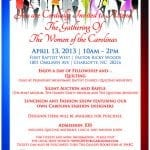 The Gathering of The Women of the Carolinas