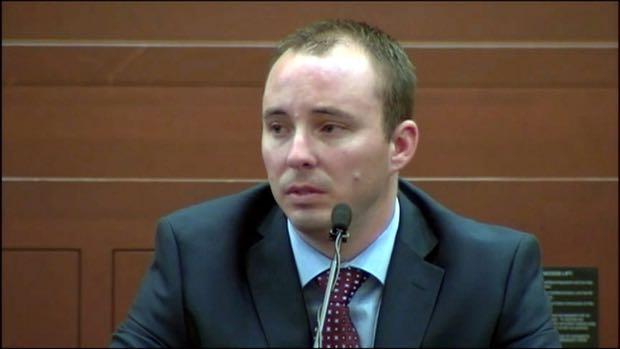 Randall Kerrick testifies in criminal trial