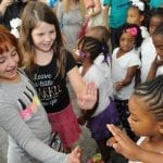 Blumenthal looks to inspire Freedom School students by letting them experience live theater