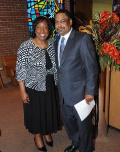 Dr. Ophelia Gorman Brown and Rev. Ricky Woods