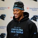 With Carolina Panthers at 7-0, Cam Newton's sulking seems long ago