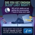 Study: African Americans aren't getting enough sleep
