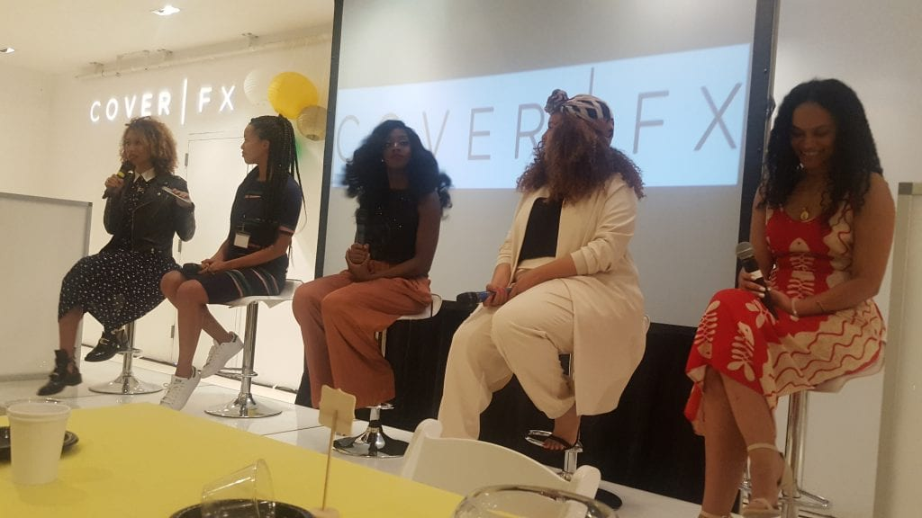 panel of ladies talking health and wellness at EmpowerHer16