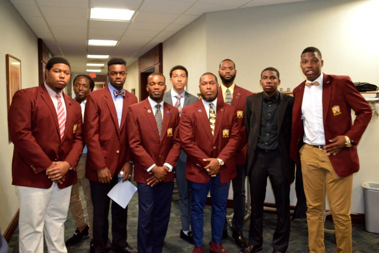 Young scholars in the YBM Leadership Alliance shared their experiences and talked about the pressures associated with growing up as young black males.
