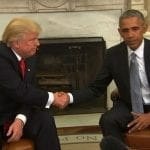 Setting aside campaign rancor, Obama and Trump meet to discuss transition