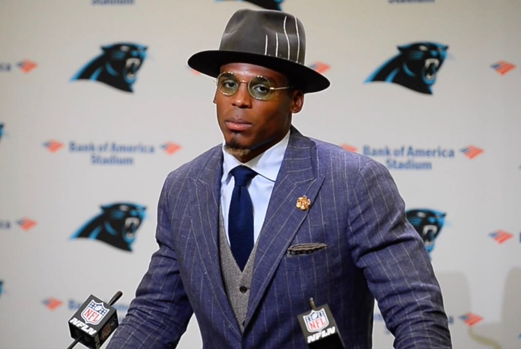 Cam Newton disappointe...