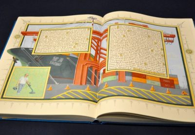 American Qur'an, a hand-transcribed work by Sandow Birk