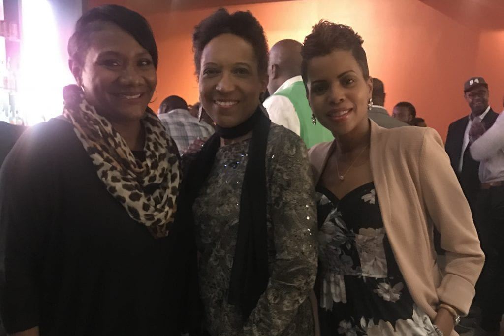 Charlotte Area Association of Black Journalists CIAA Media Mixer during the 2019 basketball tournament