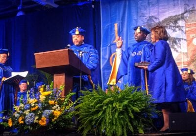 Trustee-Kevin-Henry-administered-Oath-of-Office-during-inauguration-ceremony