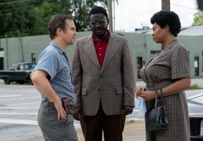 """Sam Rockwell, Babou Ceesay and Taraji P. Henson star in """"The Best of Enemies."""""""