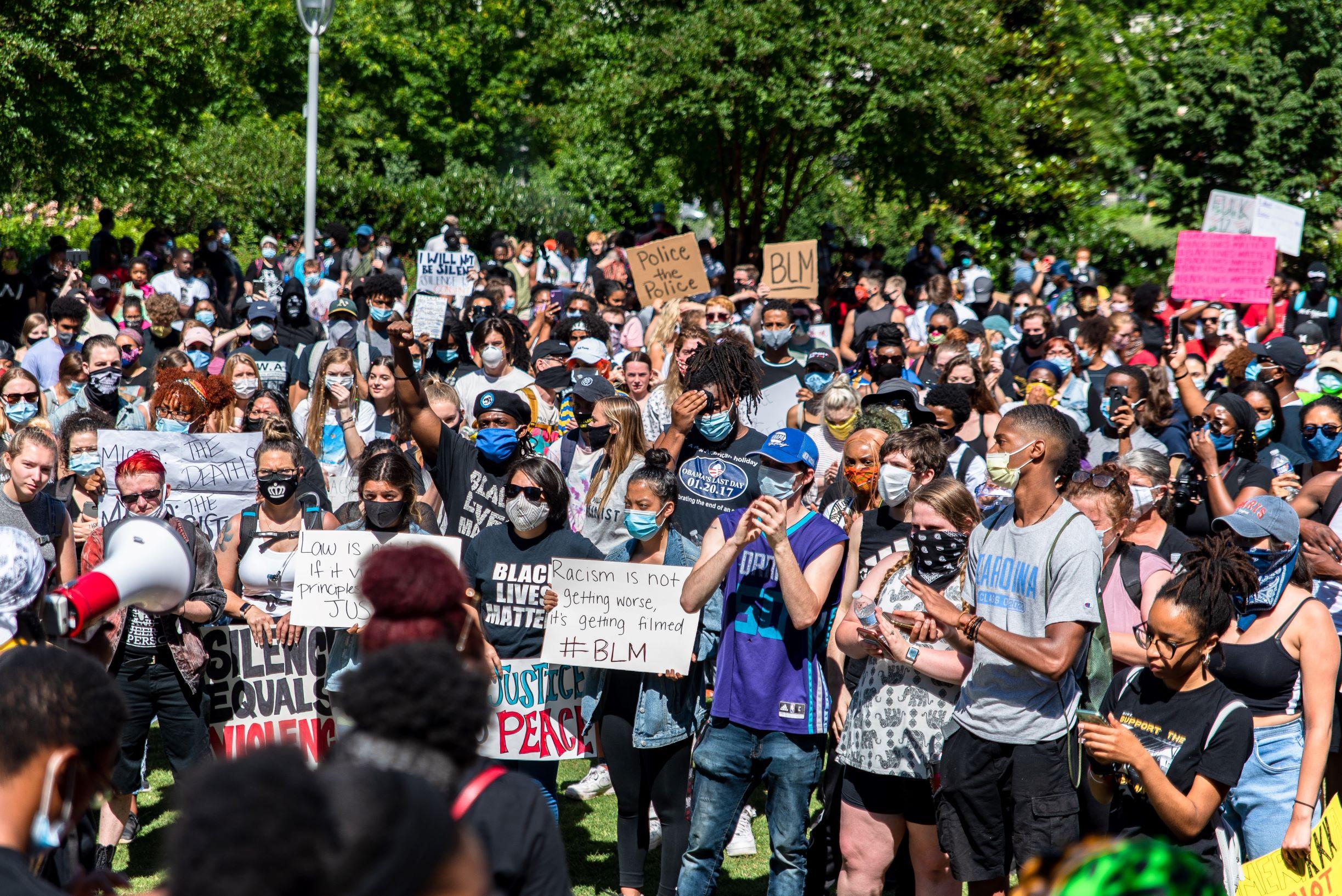 George-Floyd-Protest-Romare-Bearden-Park-053120-photo-Joshua-Galloway