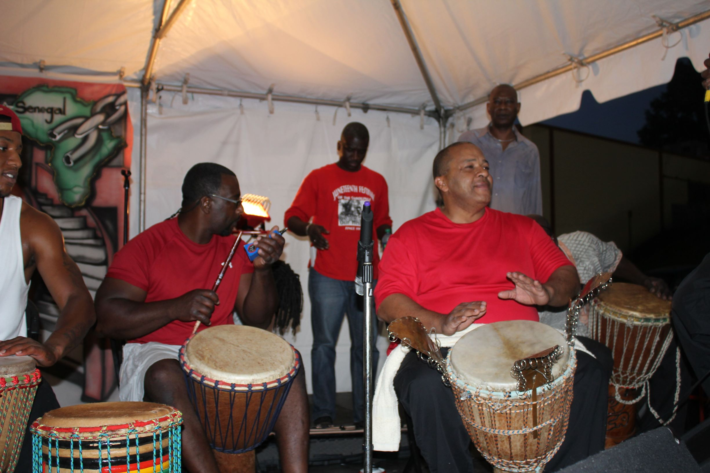 Juneteenth-of-the-Carolinas-drum-circle