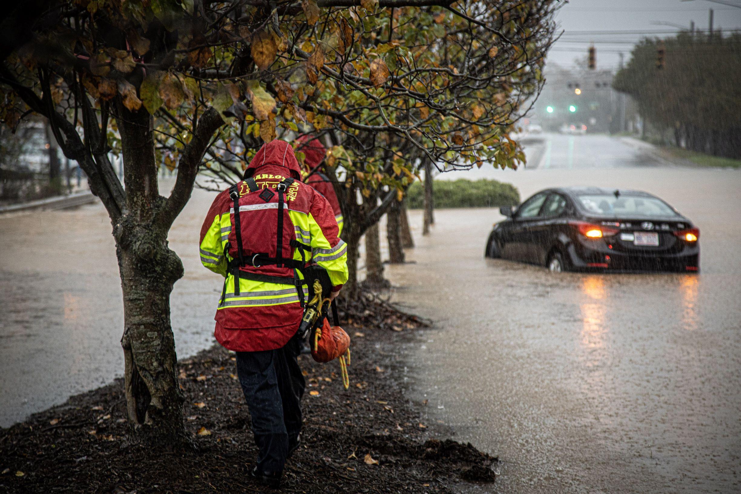 Flooding-Charlotte-Fire-Department-photo-David-Flower