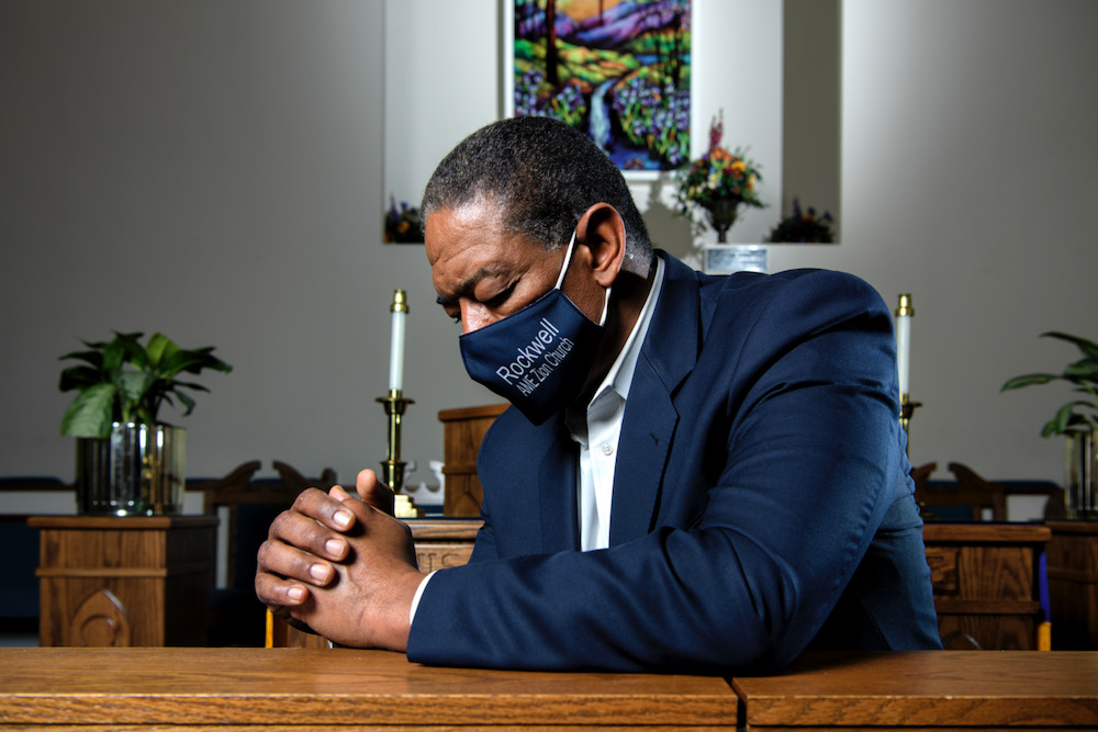 Rev Jordan B. Boyd - Rockwell AME Zion Church Charlotte 1-22-2021 by Jon Strayhorn 002