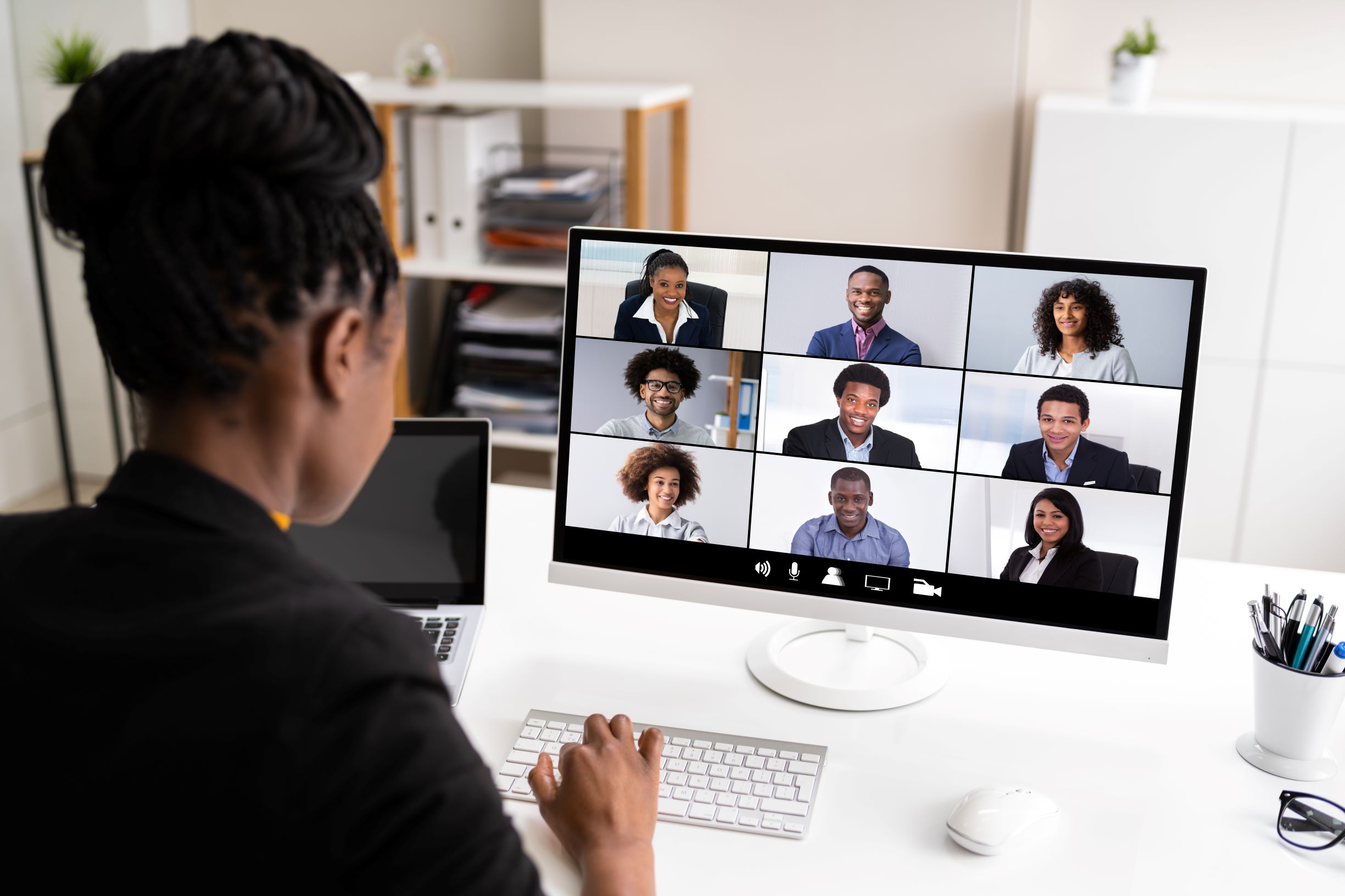 Black-virtual-meeting