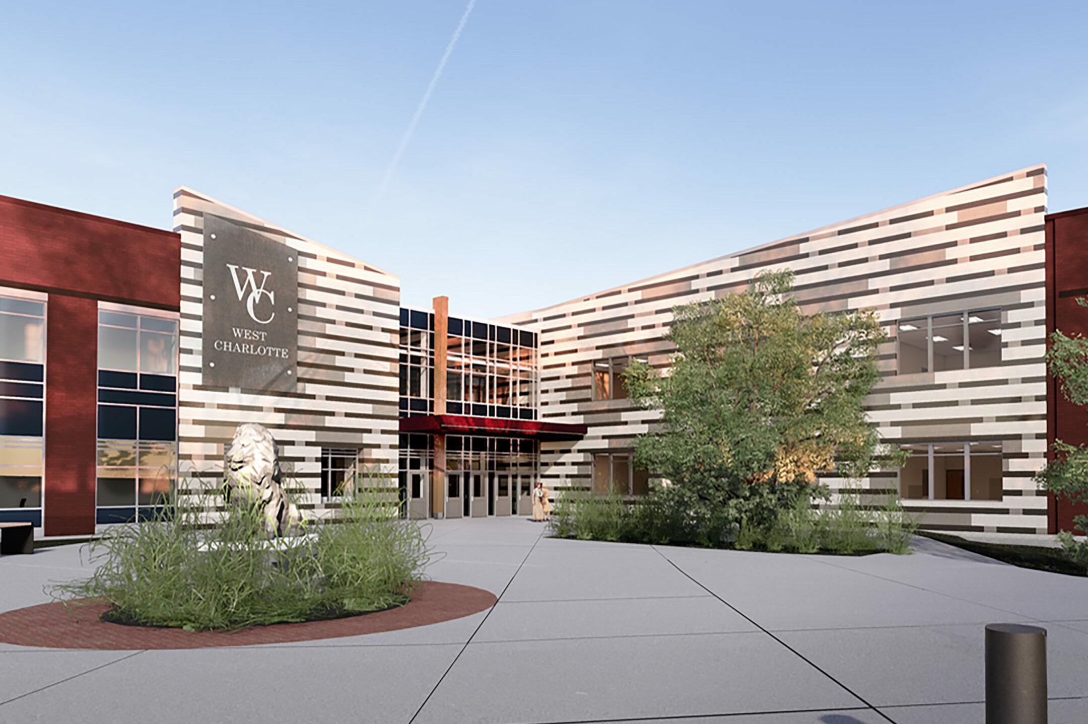 New West Charlotte High School